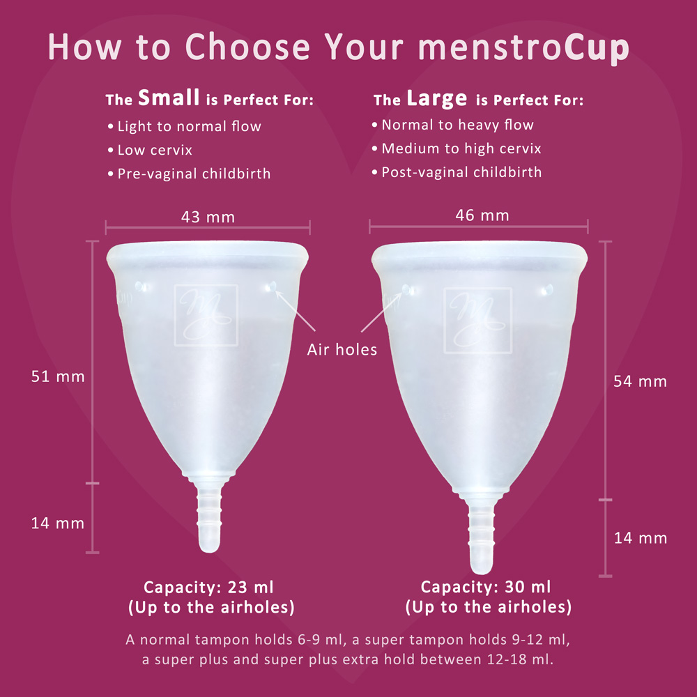 Menstrocup from femogene menstrocup menstrual cup by for A diva cup